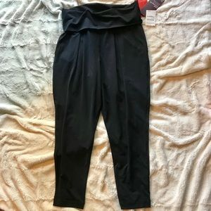 NWT Zella Relaxed Fit Black Yoga Pants